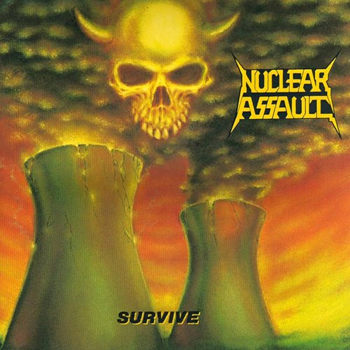 Nuclear Assault - Survive (1988 International Record Syndicate, Combat, MCA Records, USA)
