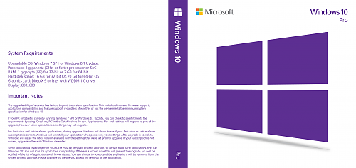 Windows 10 dvd cover