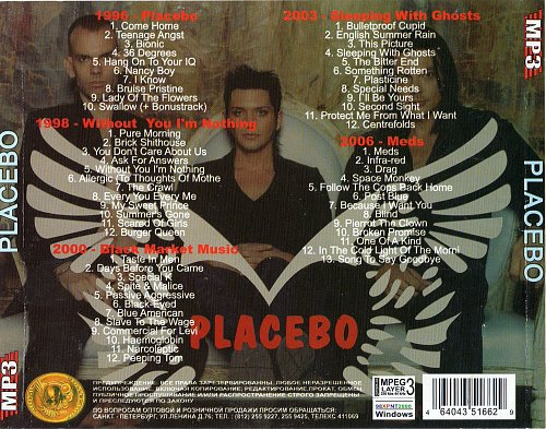 Placebo - Mp3 collection