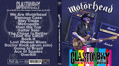 Motörhead - Glastonbury Festival (2015)