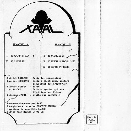 XAAL - XAAL (1990 Booster' Studio, XAAL, France)