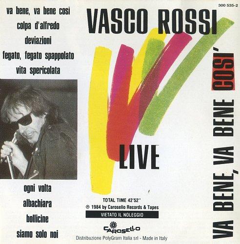 Vasco Rossi - Va Bene, Va Bene Così (Live) (1984)