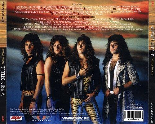 Virgin Steele - Noble Savage (1985 Cobra, DeFeis Music; 2011 Steamhammer, SPV GmbH, Germany) 2CD