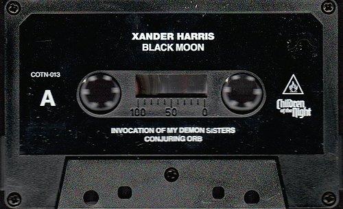 Xander Harris - Black Moon (2013, 2015 Children Of The Night, USA)