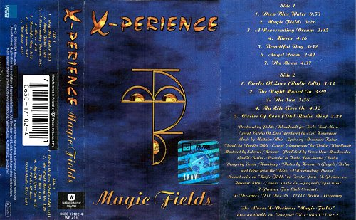 X-Perience - Magic Fields (1996 WEA Records, Warner Music, Poland)