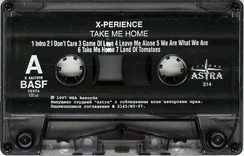 X-Perience - Take Me Home (1997 WEA Records)