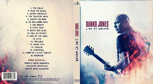 Danko Jones - Live At Wacken (2015)