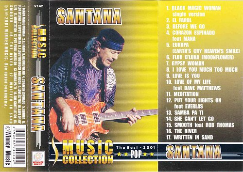 Santana - Music collection (2001)