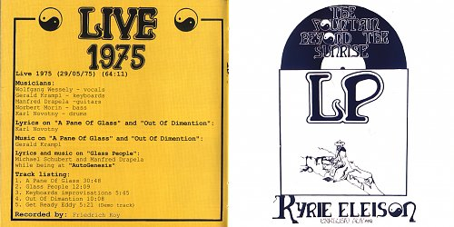 Kyrie Eleison - 1974-78 - The Complete Recordings
