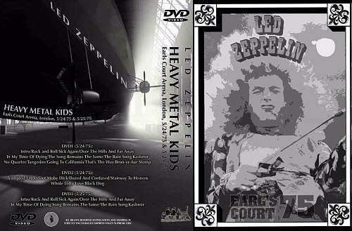 Led Zeppelin - Heavy Metal Kids Earlls Court Arena 1975