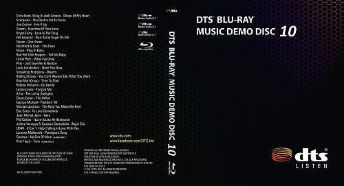 DTS Music Demo Disc 10