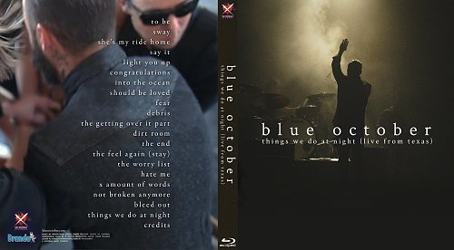 Blue October - Things We Do At Night (2015)