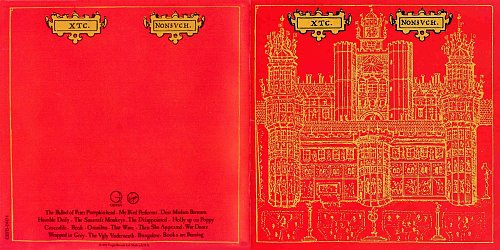 XTC - Nonsuch (1992 Virgin Records Ltd., BMI, Geffen Records Ltd., USA)