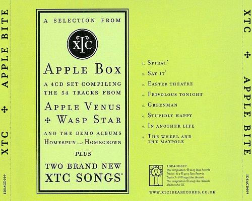 XTC - Apple Bite (2005 Idea Records, UK)
