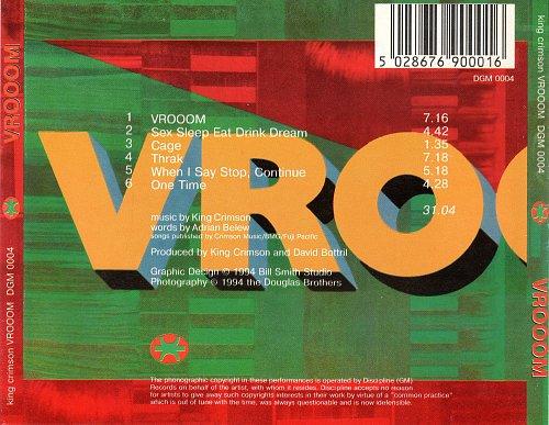 King Crimson - VROOOM (1994)