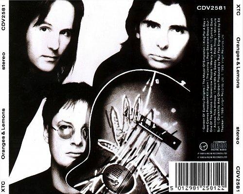 XTC - Oranges and Lemons (1989 Virgin Records Ltd., Sonopress, UK/W.Germany, EU)
