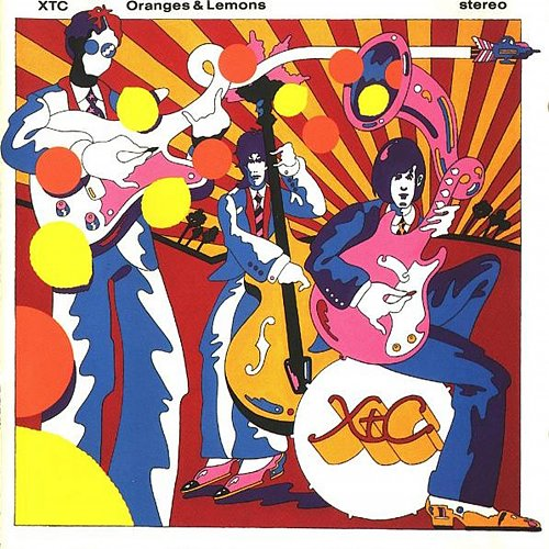 XTC - Oranges and Lemons (1989 Virgin Records Ltd., Geffen Records, Warner Bros., DADC, USA)