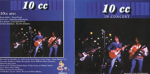 10cc - In Concert (King Biscuit Flower Hour) (1995)