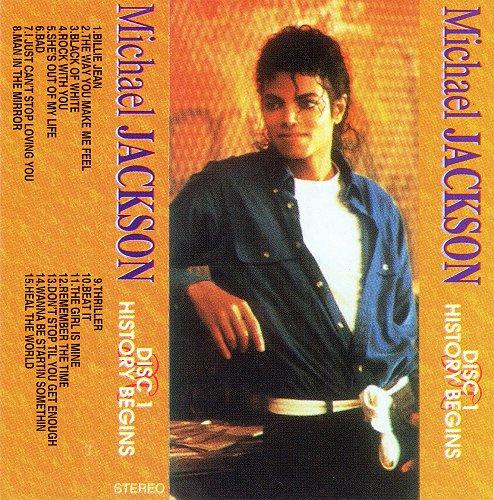 Michael Jackson - History Begins, Disc 1 (1995)