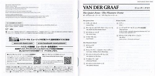 Van Der Graaf - The Quiet Zone / The Pleasure Dome (1977)