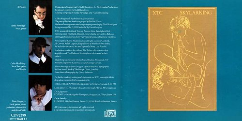 XTC - Skylarking (1986 Virgin Records Ltd., Alchemedia Productions Inc., EU)