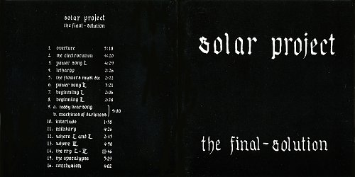 Solar Project - The Final Solution (1990)