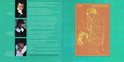 XTC - Skylarking (1986 Virgin Records Ltd., Geffen Records, MCA, BMG, USA)