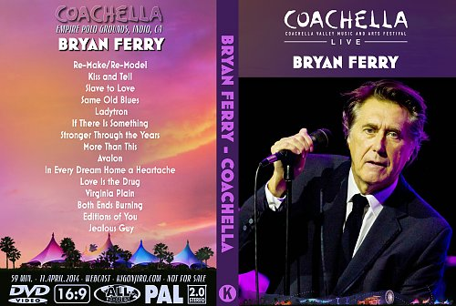 Bryan Ferry - Coachella Music Festival (2014)