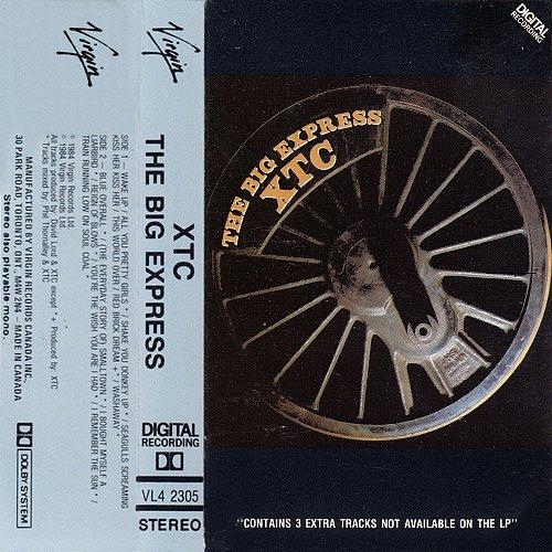 XTC - The Big Express (1984 Virgin Records Ltd.)