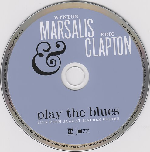 Wynton Marsalis & Eric Clapton - Play The Blues - Live From Jazz At Lincoln Center (2011)