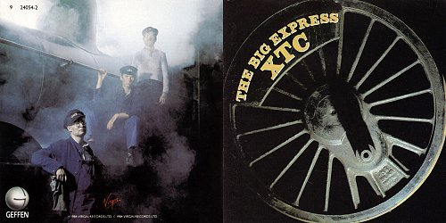 XTC - The Big Express (1984 Virgin Records Ltd.; 1988 Geffen Records, Warner Bros. Records, USA)