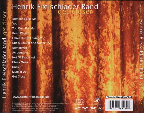 Henrik Freischlader Band - Get Closer (2007)