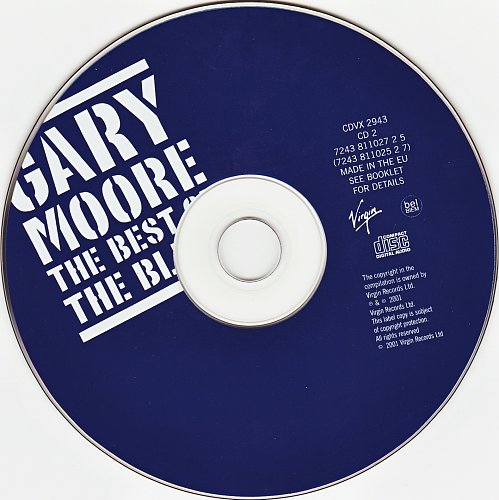 Gary Moore - The Best Of The Blues (2002)