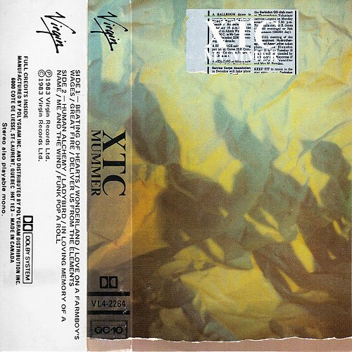 XTC - Mummer (1983 Virgin Records Ltd.)