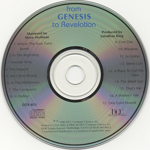 Genesis - From Genesis To Revelation (1969)