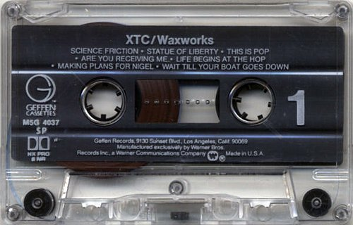 XTC - Waxworks: Some Singles 1977-1982 (1982 Virgin Records Ltd., Geffen Records, Warner Bros., USA)