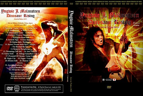 Yngwie Malmsteen - Dinosaur Rising - Live in Tokyo 2015