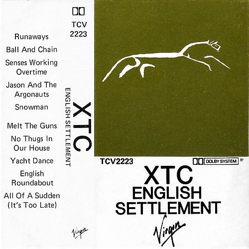 XTC - English Settlement (1982 Virgin Records Ltd.)