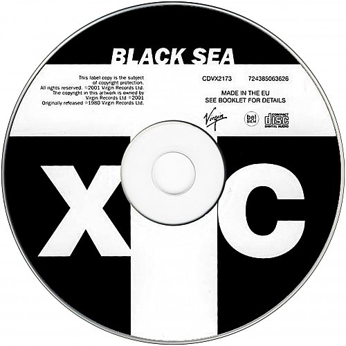 XTC - Black Sea (1980, 2001 Virgin Records Ltd., EMI Uden, UK/EU)