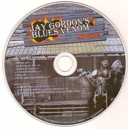 Jay Gordon's Blues Venom - No Cure (2011)