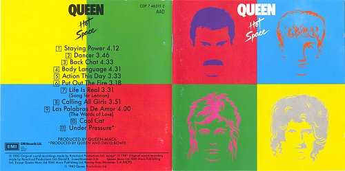 Queen - Hot Space 1982