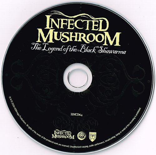 Infected Mushrooms - Legend of the Black Shawarma (2009)