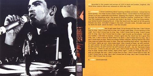 Peter Gabriel - Peter Gabriel (3) (1980)