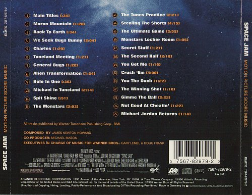 James Newton Howard - Space Jam (1996)
