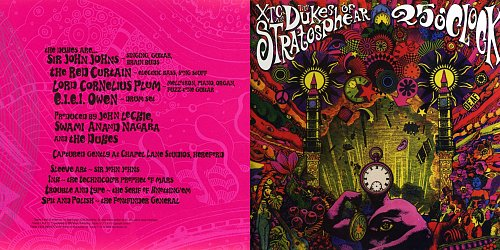 XTC as The Dukes Of Stratosphear - 25 O'Clock (1985 Virgin Records Ltd., 2009 Ape House Ltd., UK)