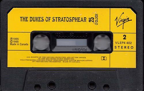 XTC as The Dukes Of Stratosphear - 25 O'Clock (1985 Virgin Records Ltd.)