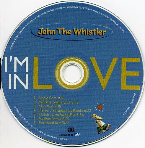 John The Whistler - I'm In Love (CD-Maxi) (2000)