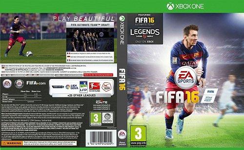 Capa FIFA 16 Xbox One