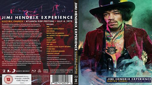 Jimi Hendrix Experience - Electric Church: Atlanta Pop Festival
