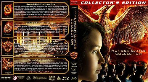 Голодные игры 4в1 / The Hunger Games Quadrilogy collection (2012-2015)